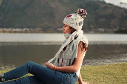 Alpaka wolle handmade