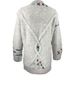 Superweicher Alpaka-Mystik Pullover mit großen Taschen. Eine überflutende Freude von Alpaka. Handgestrickt in Ecuador.